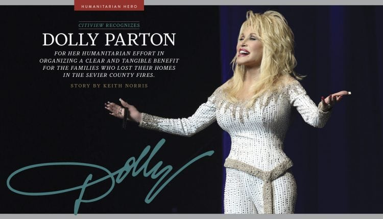 Dolly Parton is a Humanitarian Hero