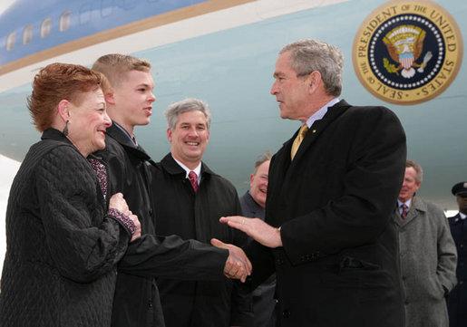 President Bush meets Jason McElwain